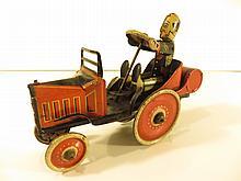 Marx Tin Coo Coo Wind Up Car
