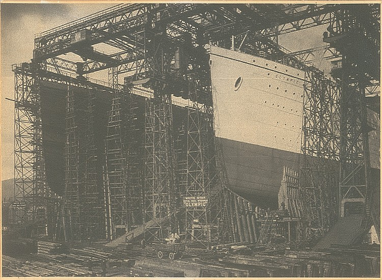 Olympic Construction in Shipyard