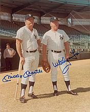 Mickey Mantle and Whitey Ford
