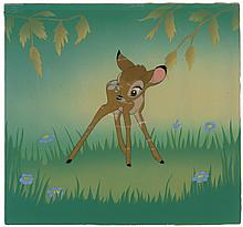 Bambi production cel from Bambi