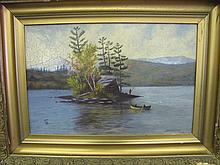 S.D. Webster painting
