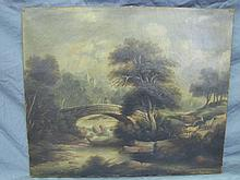 Early oil painting