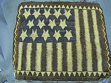 early woven Flag