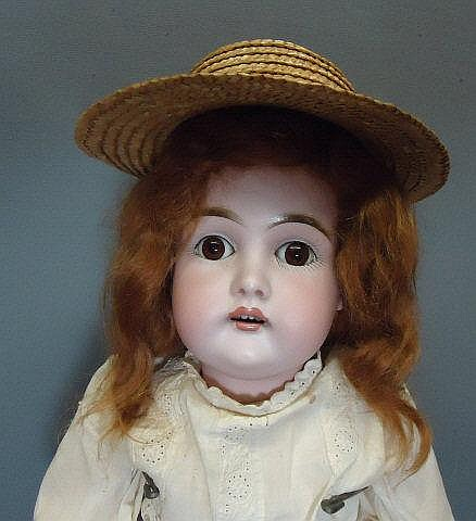 J.D. KESTNER BISQUE SOCKET HEAD DOLL #152