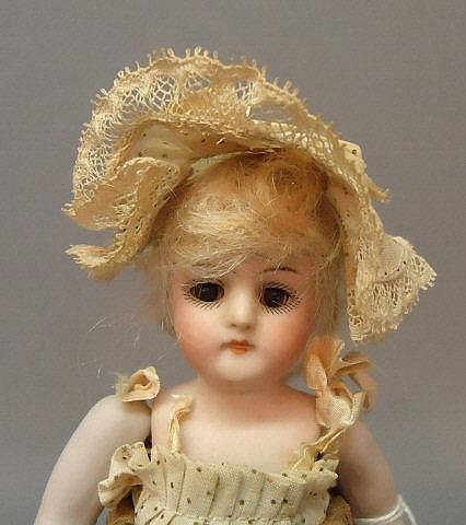 KESTNER ALL BISQUE CHILD DOLL #130