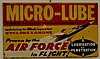 Micro Lube Advertising Sign
