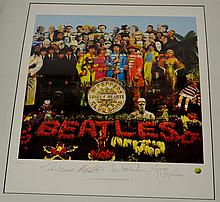 Beatles Limited Edition Lithographic Print