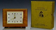 Seth Thomas Wood Travel Clock OB