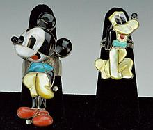 Veronica Nastacio Zuni Mickey Mouse Ring Grouping
