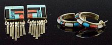 Zuni Earring Grouping
