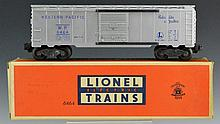 Lionel No. 6464 Western Pacific Box Car OB
