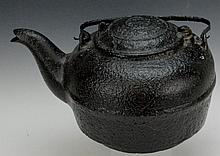 Large Cast Iron Coffee Pot