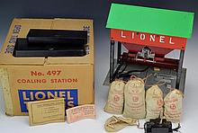 Lionel No. 497 Coaling Station