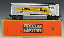 Lionel No. 6464 Western Pacific Box Car with OB