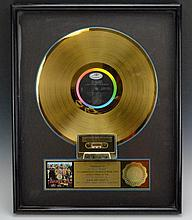 The Beatles Gold Record Sales Award
