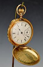 Ornate Elgin GF Pocket Watch