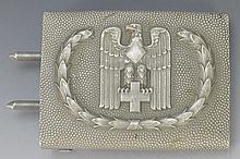 WWII German Red Cross Belt Buckle