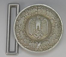 WWII German Army Officer Belt Buckle