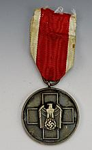 German WWII Red Cross Service Medal