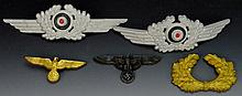 German WWII Military Insignia Grouping