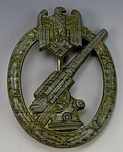 German WWII Anti-Aircraft Badge