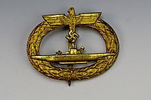 German WWII U-Boat Badge