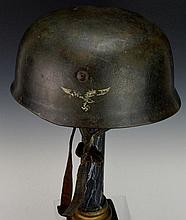 German WWII M38 Paratroopers Helmet