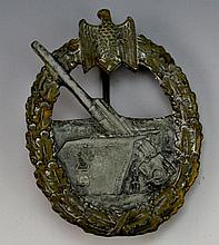 German WWII Coastal Artillery Badge