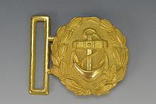 WWII German Navy Belt Buckle