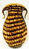 Italian Art Glass Decorative Tall Vase