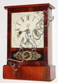 Waterbury Clock Co., Waterbury, Conn., 30 hour, time and strike, cottage clock, c1875