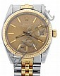 Rolex Watch Co., Switzerland, mid-size Datejust,