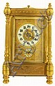 French carriage clock, large size, with grand