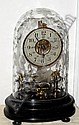 C.1920, French, Bulle. Battery clock with 24 hour