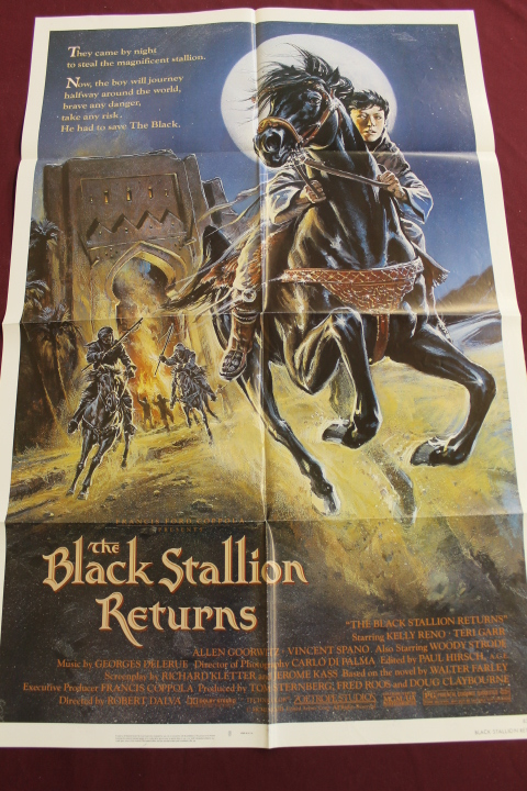 Poster - The Black Stallion Returns - 27x41