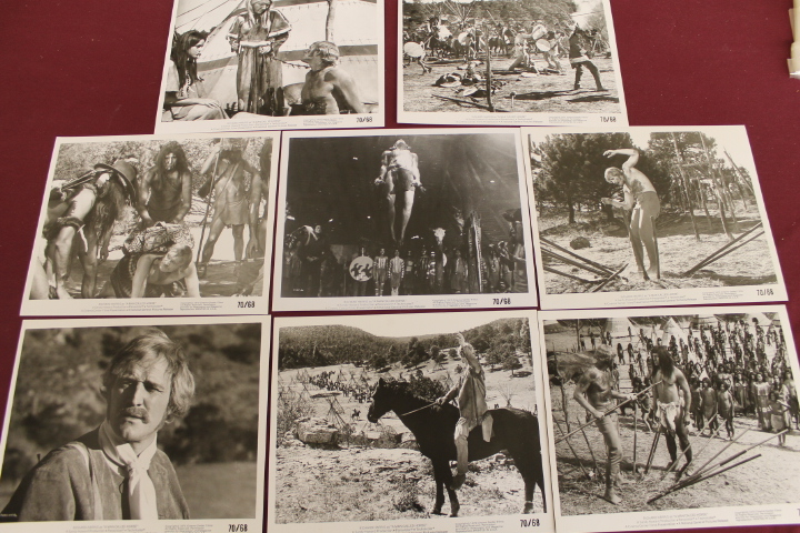 8 Movie Still Photos - A Man Called Horse - 8x10 - Richard Harris