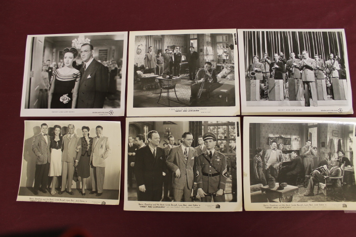 6 Movie Still Photos - Sweet and Low-Down - 8x10 - Benny Goodman