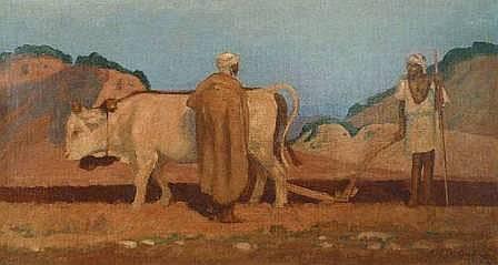 AUBRYEmile(1880 - 1964)LABOUR EN
