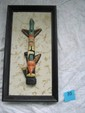 North West Coast Native American totem pic 3D