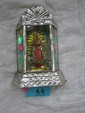 Mexican Tin Altar Retablo,  Our Lady of Guadalupe