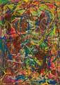 ROLPH SCARLETT, American (1889-1985), Untitled, oil on board, unsigned., 28 x 19 1/2