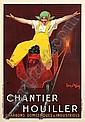 Jean D_len Chantier Houiller 1924 linen backed