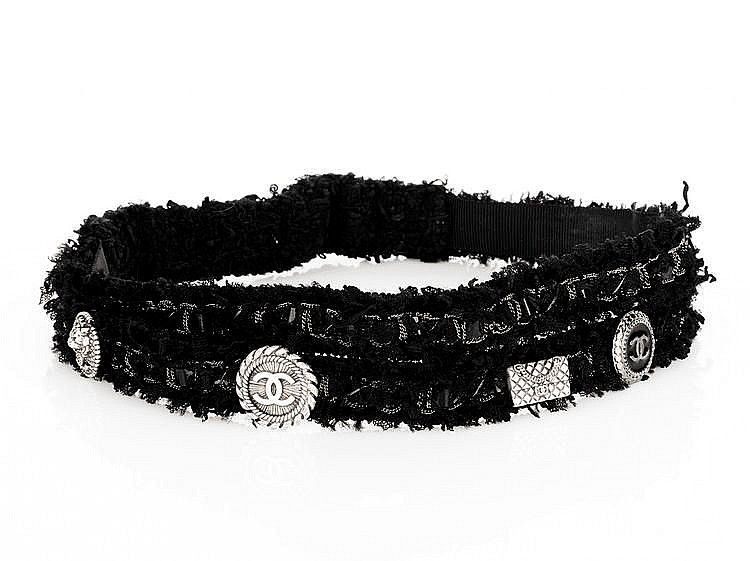 CHANEL - Wool Blend Headband, c. 2006