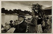 David Potts (b. 1926), Royal Henley - Onlookers, 1954/1994