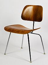 Charles Eames (American, 1907-1978), Ray Eames (American, 1912-1988), Six Low Side Chairs (model LCM), designed 1946