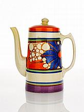 Clarice Cliff, 'Fantasque' Tankard Coffee Pot