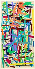 Jon Plapp (1938-2006), Abstract Triptych 1981