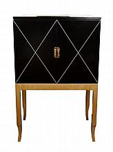 Pair Art Deco Style Bar Cabinets,