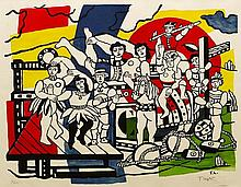 After Fernand Léger (French, 1881-1955), La Grande Parade, 1953
