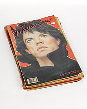 Collection of Interview Magazines,